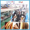 De hoge het Verbinden van de Rand van het Meubilair van pvc WPC van de Output Plastic Prijs van de Machine