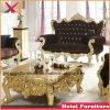 居間の宴会のための木の二重シートのソファーかレストランまたはホテルまたはホームまたは結婚式