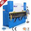 máquina de dobragem dobradeira hidráulica chapa metálica