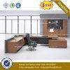 Prix bon marché MFC couleur acajou en bois Meubles de bureau (HX-8NE022)