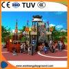 Navio Pirata parque ao ar livre do parque de diversões de equipamento deslize para crianças e as crianças