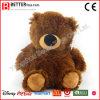 Brinquedos enchidos macios do luxuoso do urso da peluche de Brown para miúdos