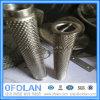 Superduplex 2507 2205 Edelstahl-Metallineinander greifen/quadratischer Maschendraht
