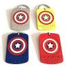 Baratos personalizados personalizados Llavero de capitán América Marvel