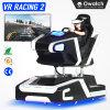 360 Grau simulador de corridas eléctrico com realista experiência de condução automóvel