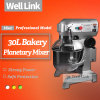 Ei-Klopfer-/multi Funktions-kommerzieller planetarischer Nahrungsmittelmischer des Bäckerei-Kuchen-Mixer/30L