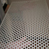 Perforated galvanizado Metal Mesh con Round Hole