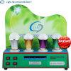 Compteur d'électricité d'étalage de lumières de DEL CFL --Cas de démonstration de 4 lampes (LTAC669)
