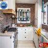 Ritz weiße Belüftung-Küche-Schränke mit Entwurf