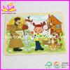 Het Houten Stuk speelgoed van uitstekende kwaliteit van het Raadsel van het Jonge geitje (W14C029)