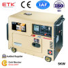 Manuelles Schlüsselanfangsdieselgenerator-Set (5KW)