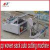 Machine de découpage automatique pour le sac de sac tissé par pp à plastique