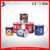 tazza di ceramica del caffè standard 11oz con il disegno del randello di gioco del calcio