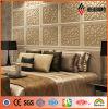 寝室Decorationのための2015新しいDesign PVDF Coated Perforated Screen ACP
