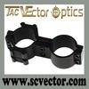 Ottica di vettore supporto della clip di portata del laser della torcia elettrica 25.4mm/di 30mm QQ con due rotaie laterali di Picatinny