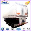 3 Eixo Resistente Van Corpo Carga/serviço público que transporta Semi o reboque da caixa do caminhão com preço de fábrica do competidor