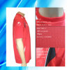 100% Polyester Man's Short Sleeve Soccer Wear