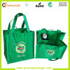 OEM superior Printed Non Woven Shopping Bag de Quality com Bottle Holder