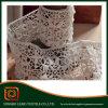 Laço 100% branco por atacado barato do algodão do Crochet da cor