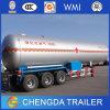 3 del árbol 40-60m3 del transporte del LPG del tanque acoplado semi