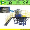 Cadre de rebut du plastique Bottle/PC Barrel/PE pp Container/HDPE/rebut en plastique/défibreur jumeau en bois d'axe de tôles d'acier de bidons en aluminium