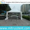 de Schuilplaats van de Zon van Pormotion van het Frame van het Aluminium van het Canvas van pvc Sunproof van 5X5m