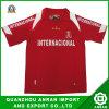 Maglietta di polo di gioco del calcio degli uomini di stampa per gli sport (AG l'8 agosto 0813 (R&W))