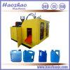 Moldeo por insuflación de aire comprimido de la botella automática del HDPE que hace la máquina