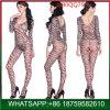 La mode femme encolure en V Zebra Lingerie sexy pour le commerce de gros