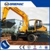 Hyundai 15 Ton de la excavadora ruedas excavadora Excavadora de tipo de movimiento