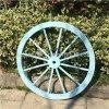 장식적인 착색된 나무로 되는 수레 바퀴 (WWW008)