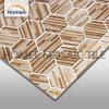Hexagon Tegels van het Mozaïek van het Glas van de Muur van de Druk van Inkjet van de Tegel Bruine