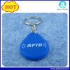chave Fob do silicone de 125kHz/13.56MHz RFID/Tag de Keychain