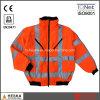 Куртка бомбардировщика Mens ленты Hi-Визави 3m отражательная