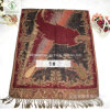 Factory Direct Multicolor Estilo Nacional Double-Face Jacquard Scarf Shawl