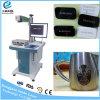 Precio de la máquina de la marca del laser de la fibra de la fabricación de China para el plástico