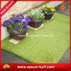 Het hoge Kunstmatige Gras van de uv-Weerstand 50mm Hoogte