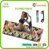 Estera a todo color antirresbaladiza estupenda popular caliente de la yoga de la impresión de Chevron