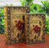 Nouveau livre en cuir de style Vintage case pour afficher/stockage