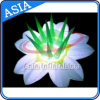 Decorazione gonfiabile poco costosa del fiore con l'indicatore luminoso del LED per la cerimonia nuziale/partito/evento