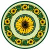 Tegel 1200X1200mm van de Vloer van het Kristal van het Tapijt van het Patroon van de bloem Tegel Opgepoetste Ceramische (BMP10)