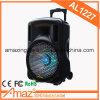 Orateurs actifs extérieurs de la meilleure qualité et mieux orateur en bois portatif de chariot à amplificateur