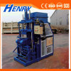Máquina hidráulica do bloco da maquinaria de construção da vibração Hr1-10, máquina de fatura de tijolo do solo de argila