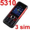 三SIM 3枚のSIMカードが付いている5310S TVの携帯電話