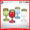 Tarro de masón de cristal de la venta directa de la fábrica mini, pequeño tarro de masón de encargo con las tapas