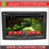 Peugeot 3005/5008/Partner/Berlingo (AD-7053)のためのA9 CPUを搭載するPure Android 4.4 Car DVD Playerのための車DVD Player Capacitive Touch Screen GPS Bluetooth