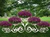 Paisaje Combinación de flores de pie (A-01)