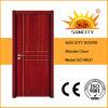 Puertas del dormitorio de la habitación de China, puertas sólidas de madera (SC-W037)