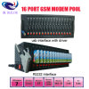 SMS Software를 가진 16port GSM Modem Pool