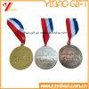 De in het groot Medaille van de Sporten van het Metaal van de Legering van het Zink met het Aangepaste Lint van het Embleem